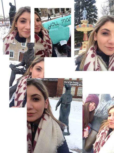 Maddy C Selfies